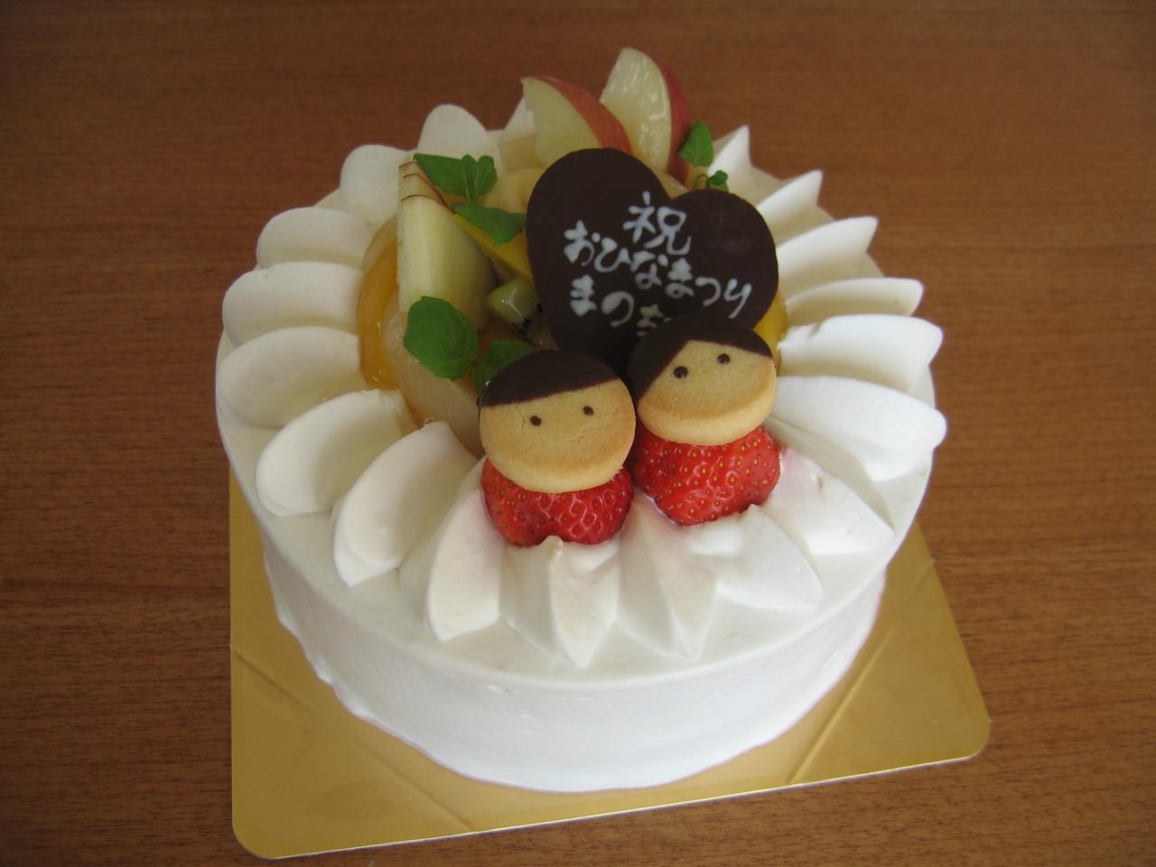 ショートケーキ(ひなまつり)